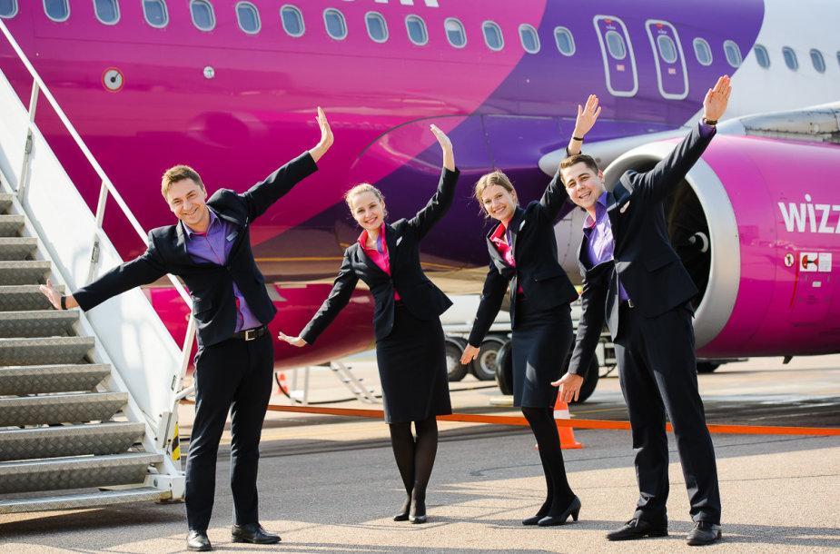 """""""Wizz Air"""" pradėjo skraidinti iš Kauno"""