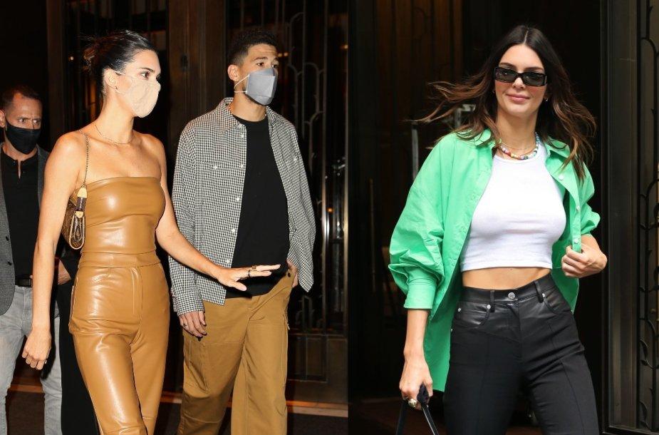 Kendall Jenner ir Devinas Bookeris