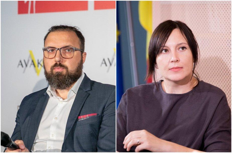 Darius Vaitiekūnas ir Lina Kaminskaitė