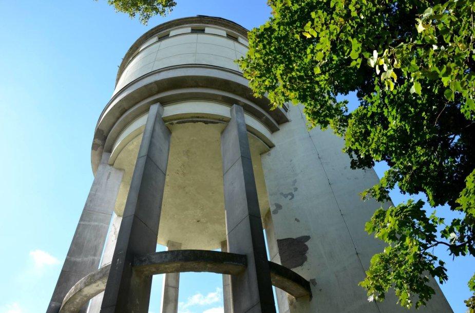 Apleistas vandens bokštas Panevėžyje