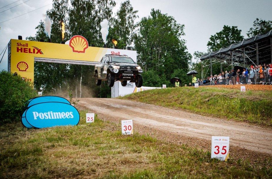 "B.Vanagas ""Rally Estonia"""