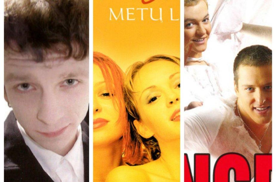 Lietuviškų muzikos albumų viršeliai