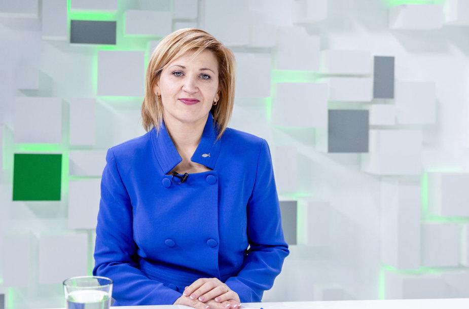 15min studijoje – kandidatė į Vilniaus meres Edita Tamošiūnaitė