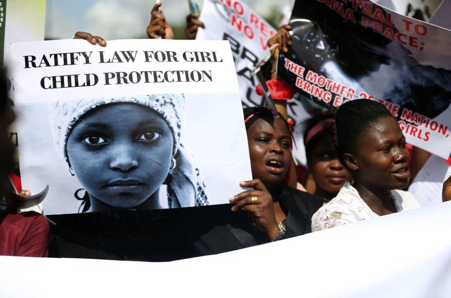 """Protesto akcija prieš """"Boko Haram"""""""