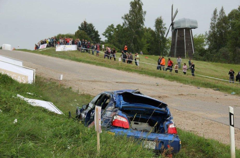 V.Gerdžiūno avarija
