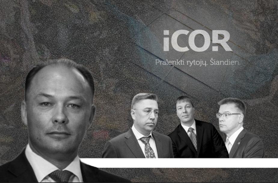 """Vytauto Banio partneriai bei """"Icor"""" vyrai Andrius Janukonis, Gintautas Jaugielavičius ir Linas Samuolis pasidalijo didelius pinigus iš šiukšlių"""
