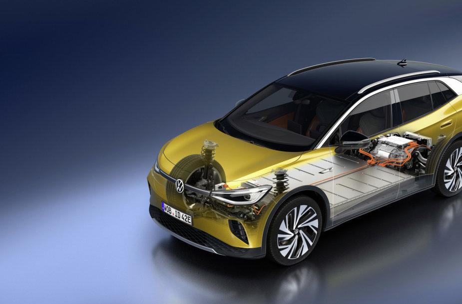 Elektromobilis Volkswagen ID.4