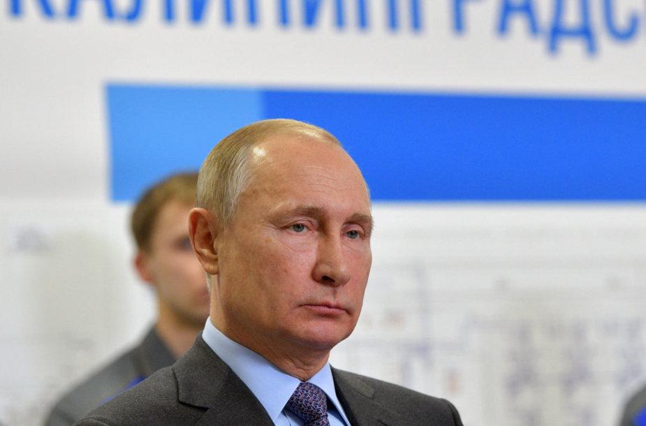 Vladimiras Putinas Kaliningrade