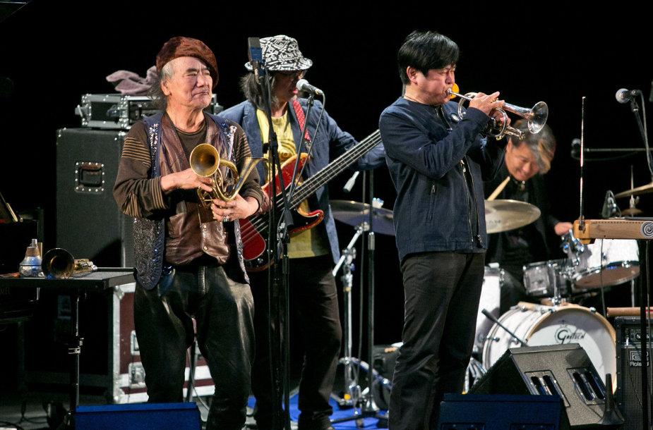 """Japonų džiazo kolektyvas """"Hikashu"""