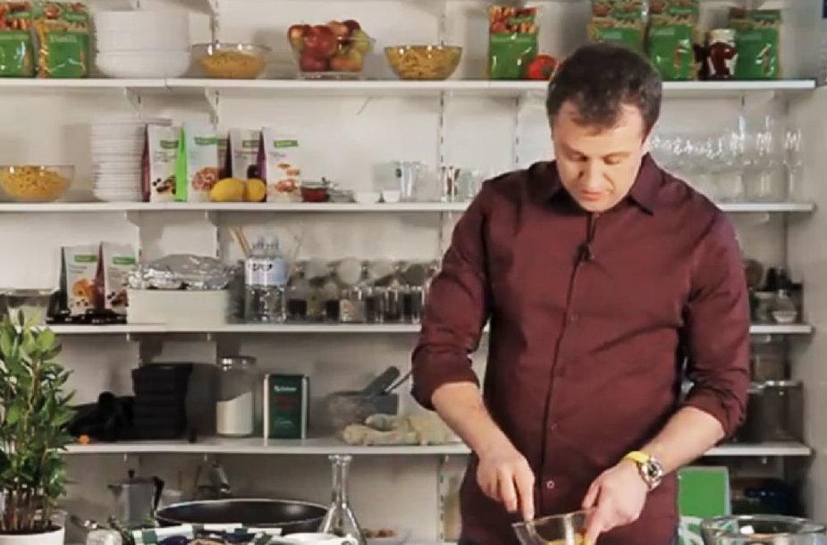 Virtuvės šefas Liutauras Čeprackas