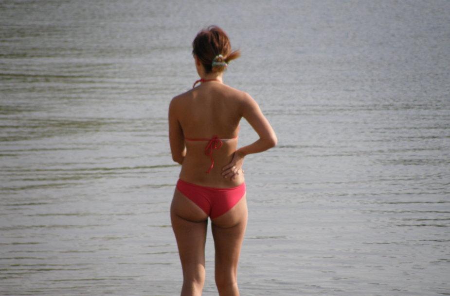 Kauniečiai rugsėjo paplūdimiuose