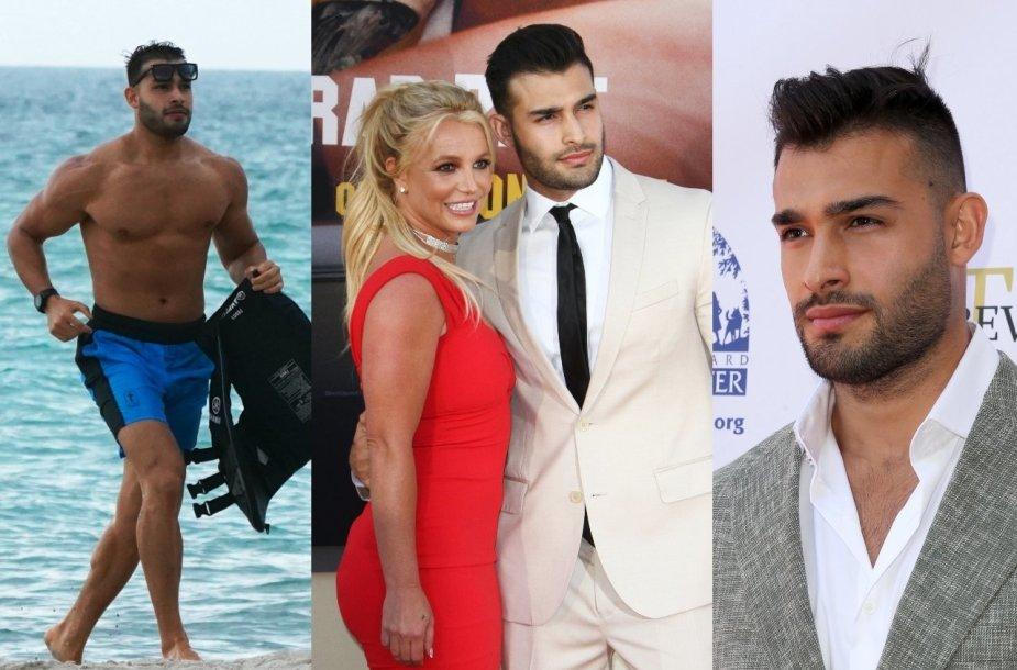 Samas Asghari – Britney Spears vaikinas