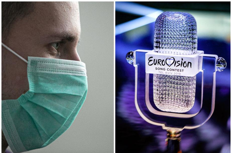 """""""Eurovizijos"""" dainų konkursui dėl koronaviruso iškilo grėsmė"""