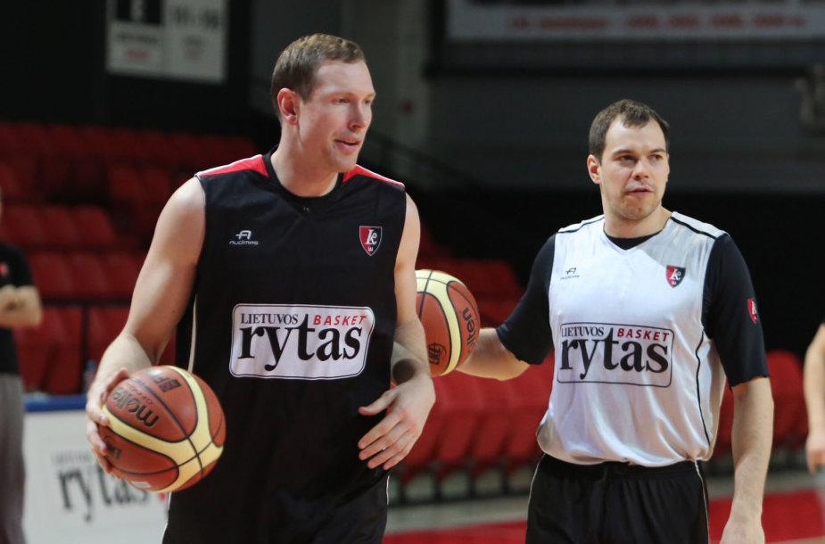 Darius Songaila ir Steponas Babrauskas