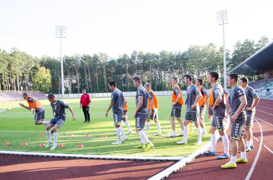 U21 rinktinė Alytuje