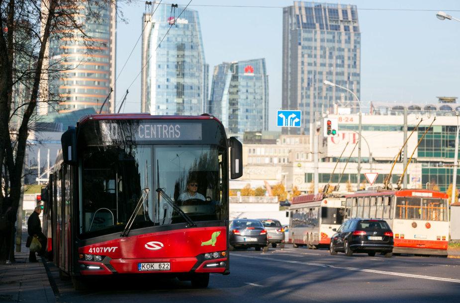 Naujieji Vilniaus viešojo transporto autobusai