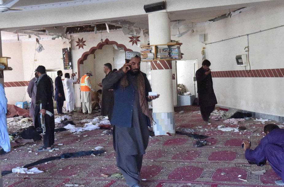 Po sprogimo mečetėje