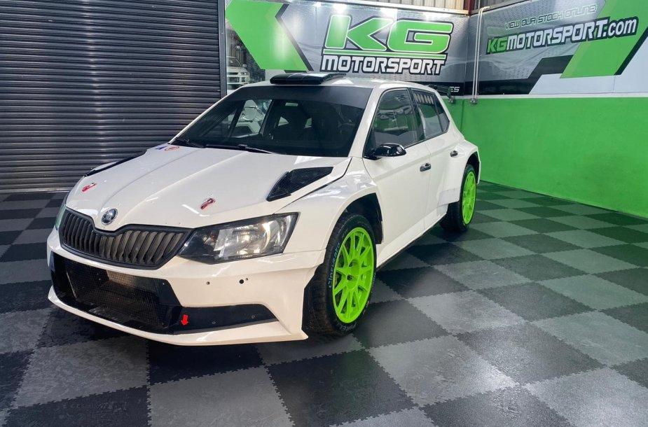 """Škoda Fabia R5"""
