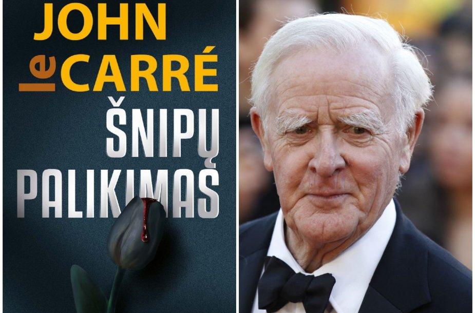 """John le Carré knyga """"Šnipų palikimas"""""""
