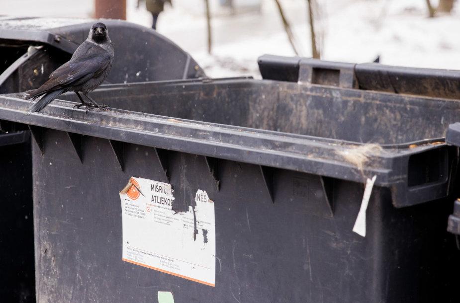 Šiukšlių konteineriai Vilniuje