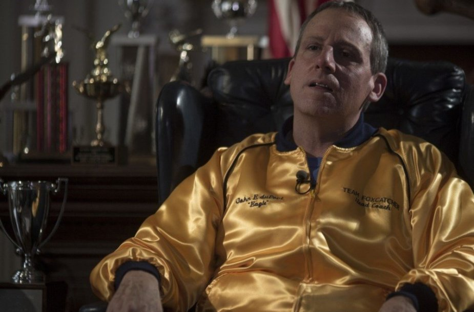 "Steve'as Carellas filme ""Foxcatcher"""