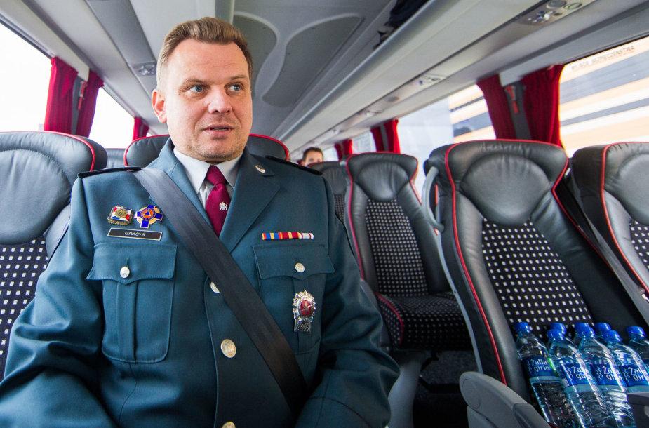 Lietuvos kelių policijos tarnybos viršininkas Vytautas Grašys