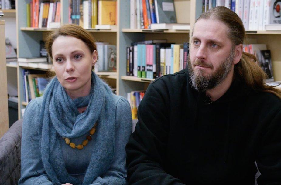 Aistė Smilgevičiūtė ir Rokas Radzevičius