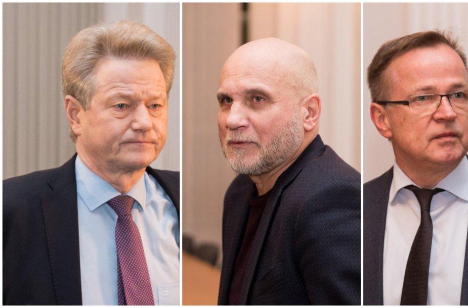 Rolandas Paksas, Gedvydas Vainauskas ir Antanas Juozas Zabulis