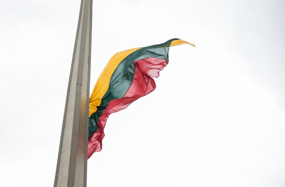Valstybės vėliavos pakelimo ceremonija