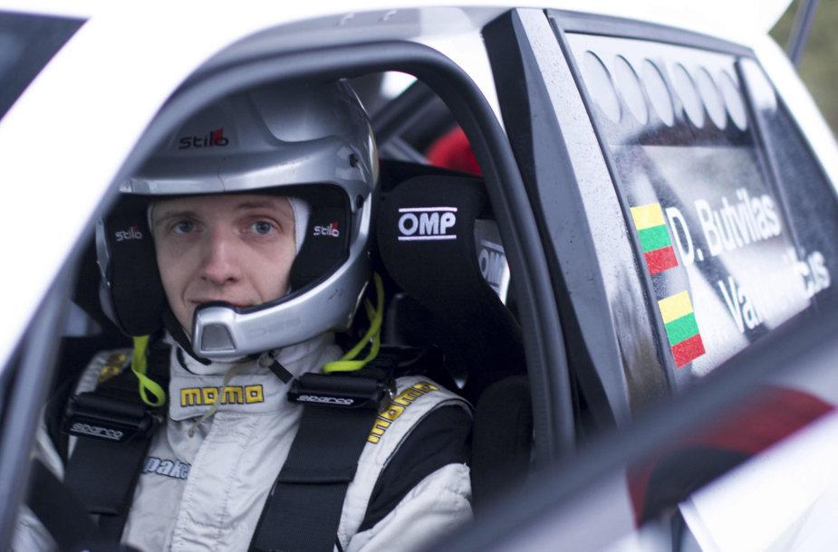 """Dominykas Butvilas testuoja """"Škoda Fabia R5"""""""