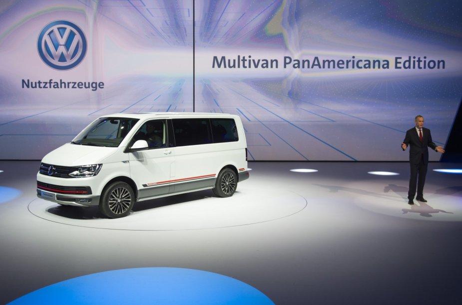 """""""Volkswagen Multivan PanAmericana"""" konceptas"""