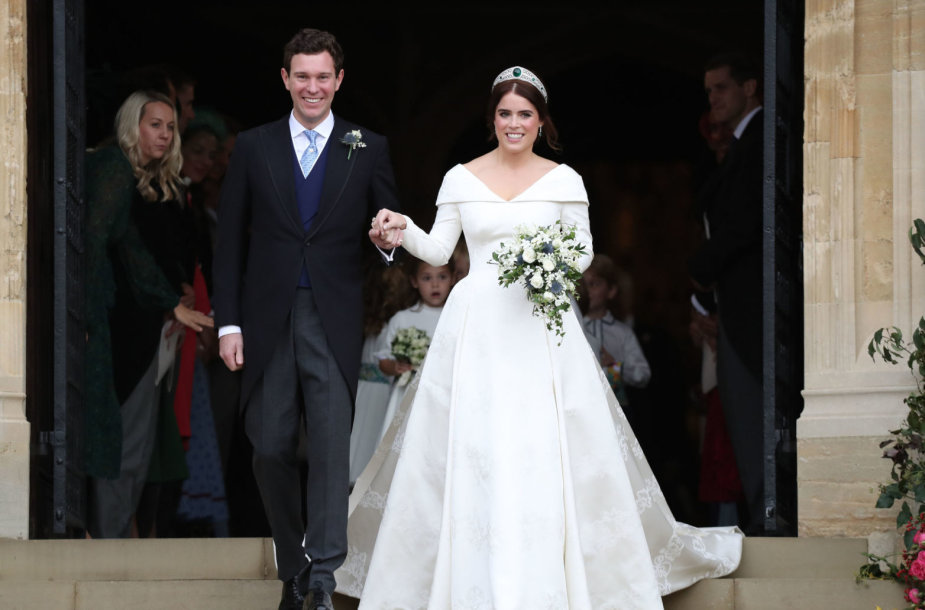 Princesės Eugenie ir Jacko Brooskbanko vestuvės