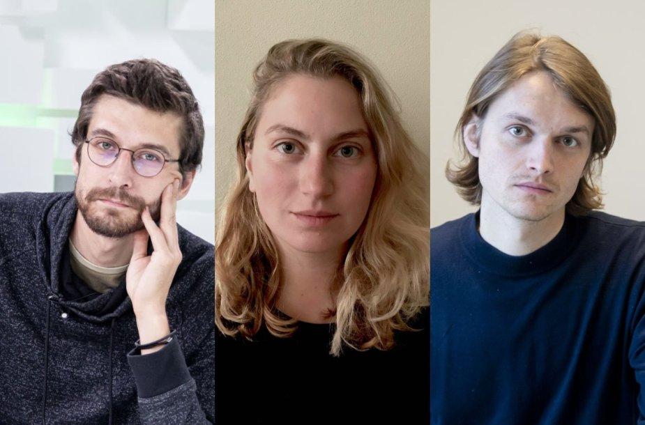 Mikas Žukauskas, Marija Kavtaradzė, Karolis Kaupinis