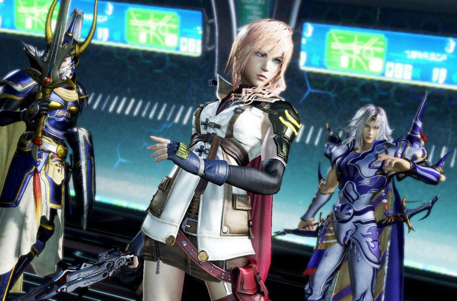 """Dissidia: Final Fantasy NT"""
