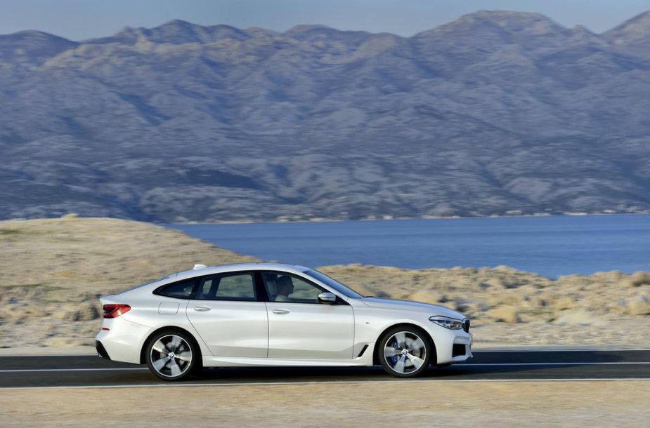"""Naujasis """"BMW 6 Grand Turismo"""""""