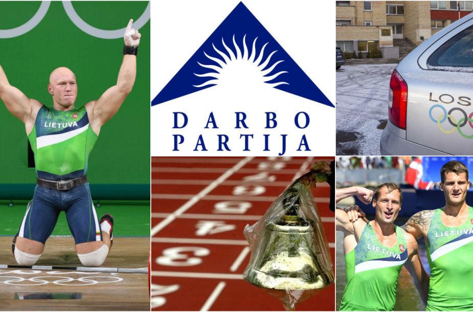 Atmosfera Lietuvos sporto padangėje kaista