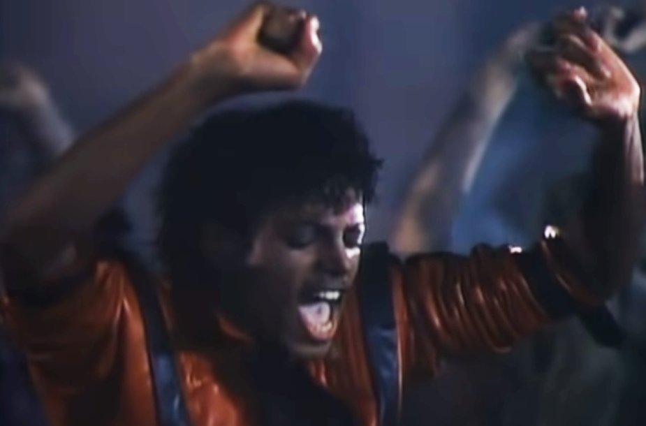 "Kadras iš ""Thriller"""