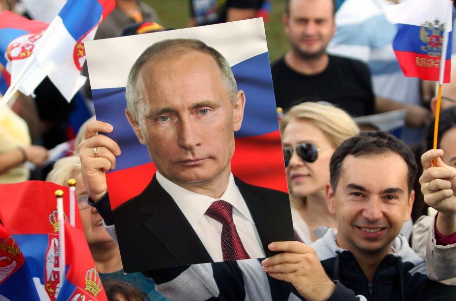 V.Putino sutiktuvės Belgrade