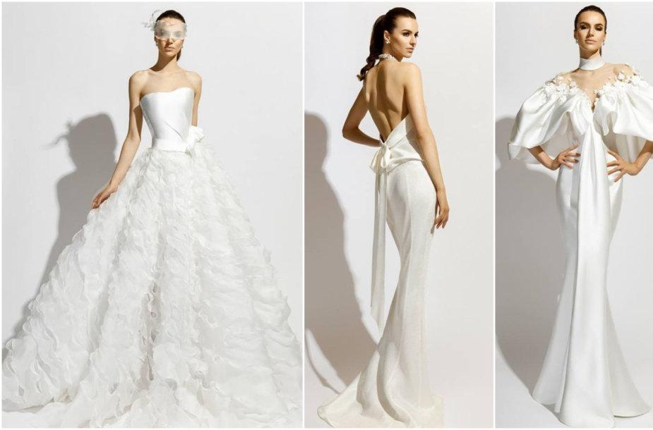 """Mados namų """"Vamp"""" vestuvinių suknelių kolekcija"""