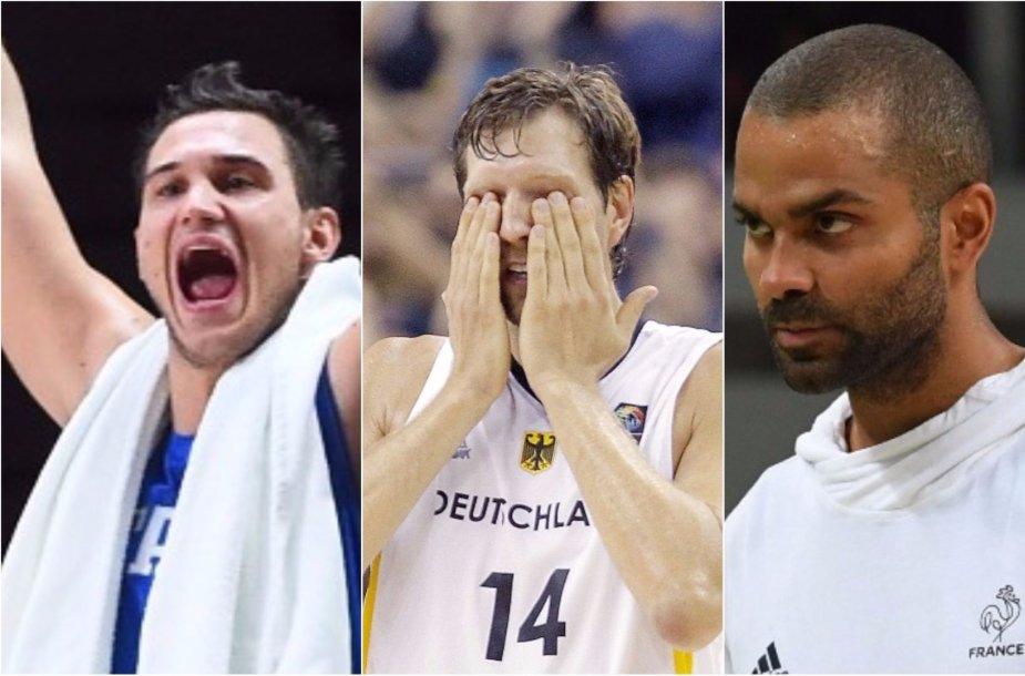 Europos čempionate pasigesime daug žvaigždžių