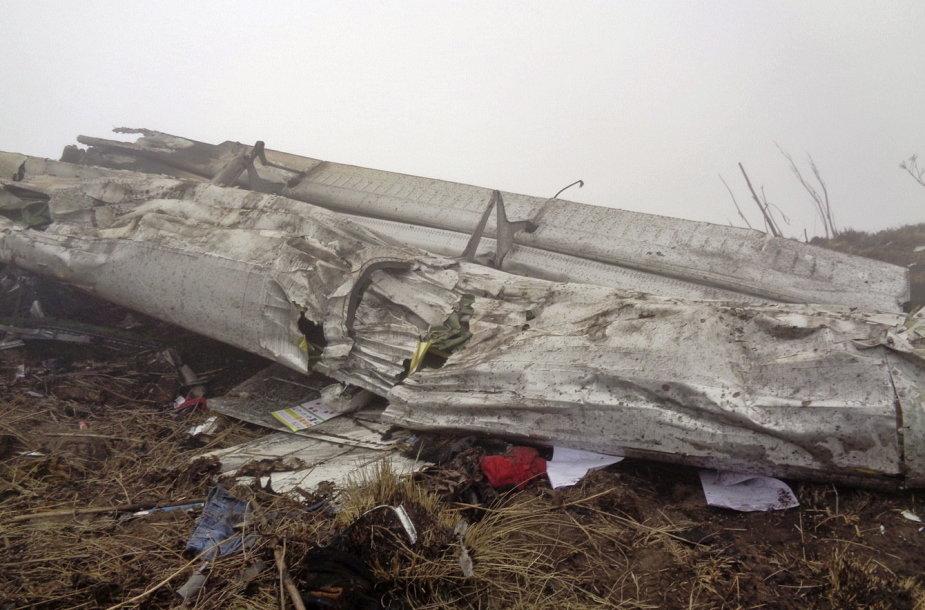 """Trečiadienį Nepale rasto """"Tara Air""""lėktuvo nuolaužos"""