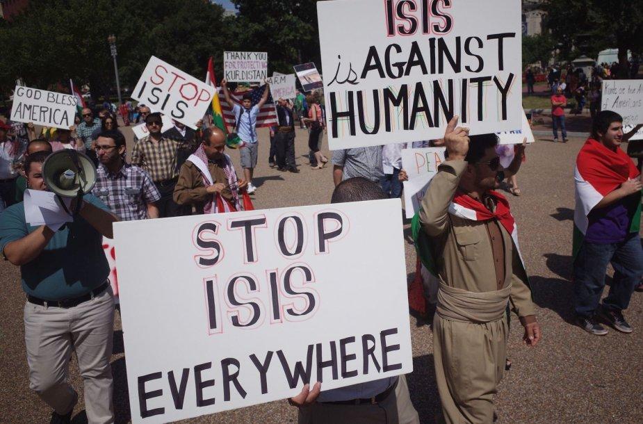 Reikalavimai sustabdyti islamistų smurtą