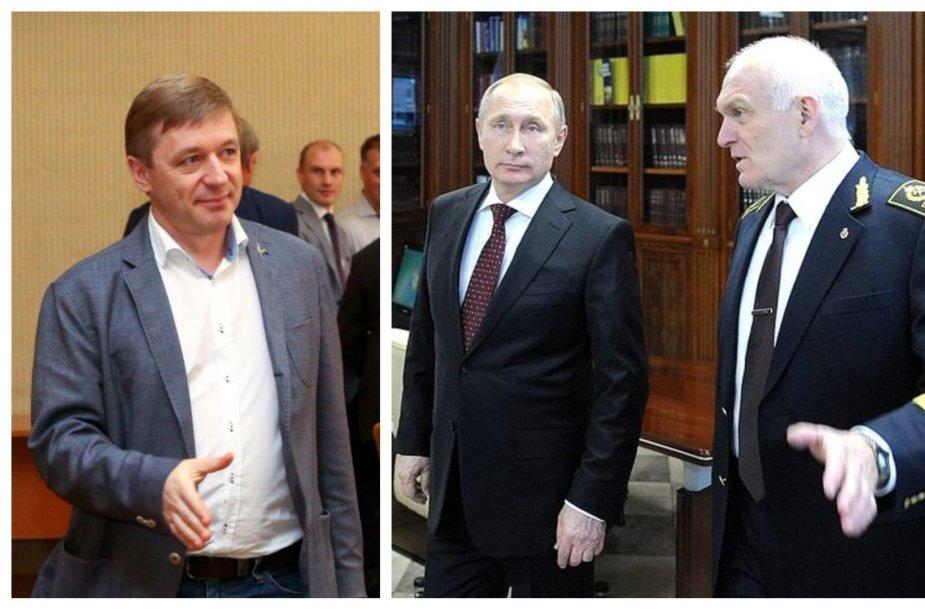 """Ramūno Karbauskio verslas dirba su Rusijos kompanija """"PhosAgro"""", kurios vienas stambiausių akcininkų - Vladimiro Putino disertacijos vadovas, neaiškiomis aplinkybėmis milijardieriumi tapęs Vladimiras Litvinenka"""