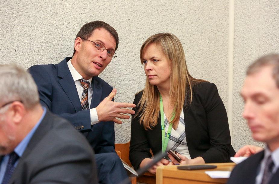 Elvinas Jankevičius ir Milda Dargužaitė