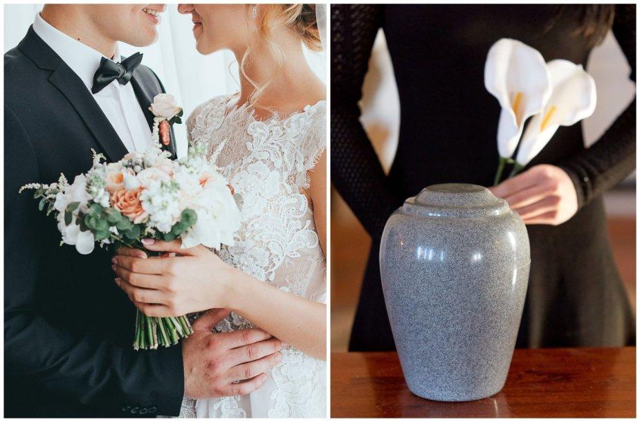 Santuokos ir laidotuvių ceremonijų tvarka per karantiną