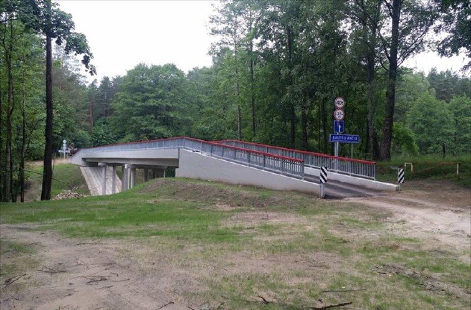 Tiltas per Baltąją Ančią