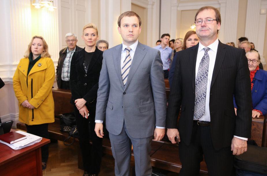 Vitalija Vonžutaitė, Vytautas Gapšys,  Viktoras Uspaskichas