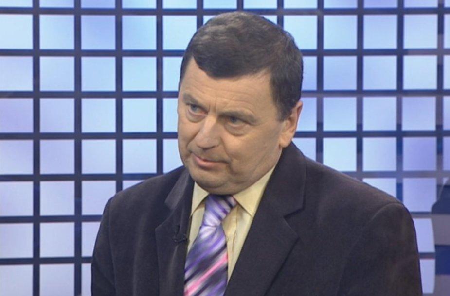 Pelėdnagių seniūnas Valentinas Tamulis