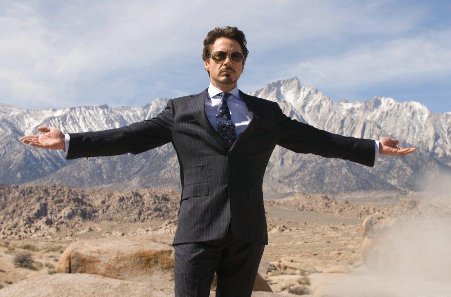 1 vieta: Robertas Downey jaunesnysis – 75 mln. JAV dolerių