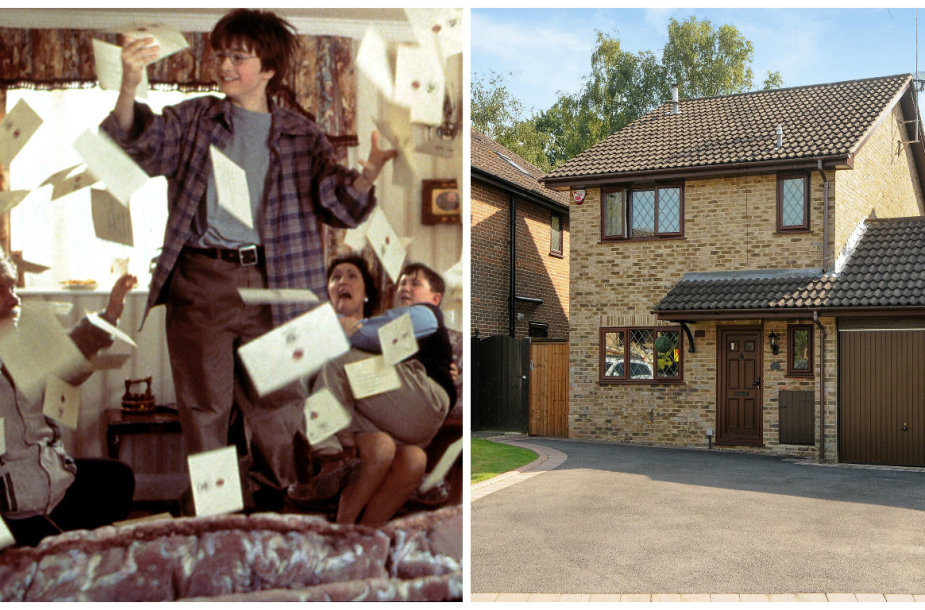 Parduodami namai, kuriuose buvo filmuojamos Hario Poterio gyvenimo pas dėdę ir tetą Durslius scenos